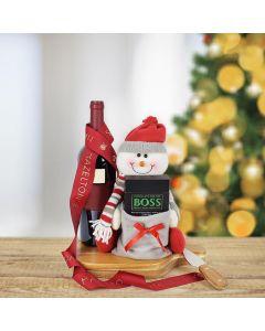 Winter Wine & Chocolate Holiday Gift Set