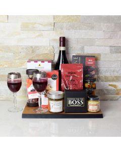 The Rustic Wine & Cheese Board