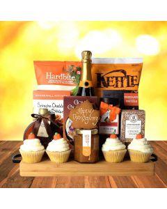 Thanksgiving Bubbly & Snacks Bounty
