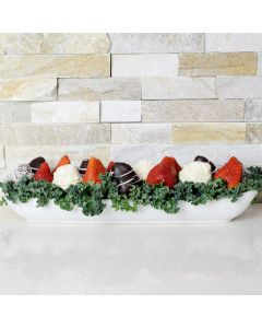 Chocolate Strawberry Boat