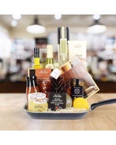 Mediterranean Wine Gift Basket