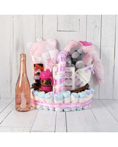 Baby Girl's Got Style Champagne Gift Set