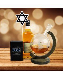 Around the World Hanukkah Liquor Set