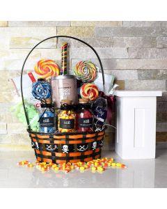 Ghastly Ghoul Halloween Gift Basket