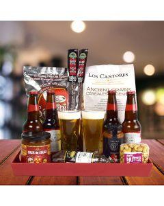 Ice Cold Beer Gift Basket
