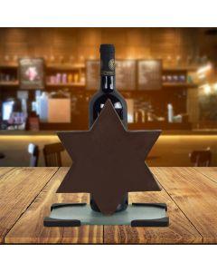 Chocolate Star of David Wine Gift
