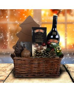 Santa's Village Liquor Gift Basket
