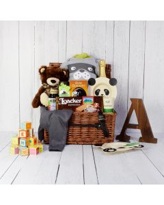 SPECIAL DELIVERY UNISEX BABY GIFT BASKET
