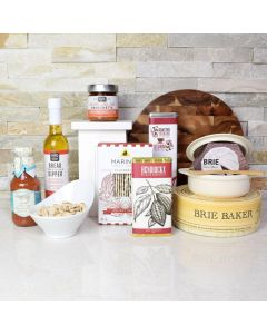 Coffee & Brie Baker Gift Set