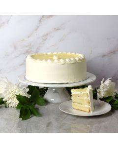 Large Bavarian Cream Cake