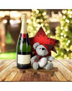 Holiday Champagne Celebration Basket