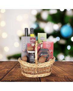 Christmas Classics Snack & Sweet Gift Basket