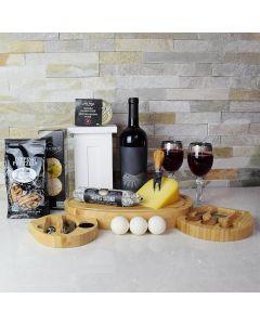 Gourmet Truffle Salami & Wine Gift Set