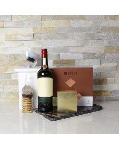 A Little Irish Liquor & Chocolate Gift Basket