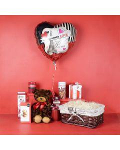 Sweet Romance in Paris Gift Basket