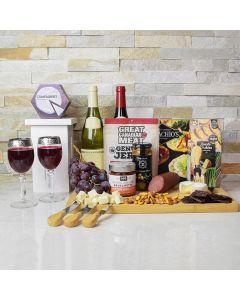 Wine & Cheese Celebration Gift Basket