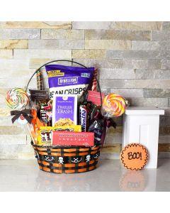 Petrifying Purple Halloween Gift Basket