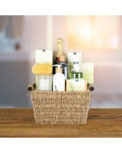 Fresh & Herbal Spa Gift Set with Champagne