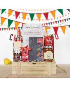 Sweet & Spicy Liquor Gift Basket