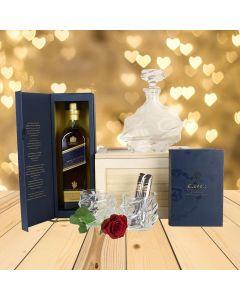 VIP Liquor Decanter Gift Basket