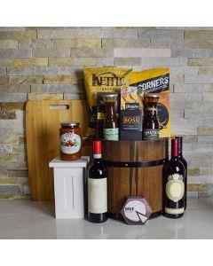 Tuscany Wine Barrel