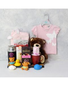 SOFT & SNUGGLY BABY GIRL GIFT SET