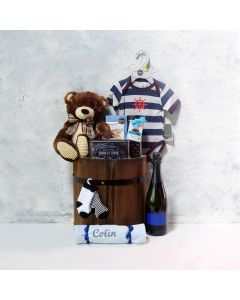 BABY'S FIRST GIFT SET WITH SPARKLING WINE