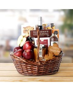 Thanksgiving Fruit & Treat Bounty Basket