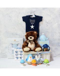 Baby Boy Fun & Comfort Basket