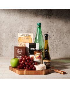 Lake Rosseau Gourmet Cheese Board, gourmet gift baskets, gourmet gifts, gifts, cheese board, charcuterie