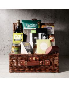 A Luxurious Picnic for Two Gift Basket, wine gift baskets, gourmet gifts, gifts