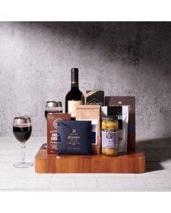The Vineyard's Yield Hanukkah Gift Basket, kosher gift baskets, gourmet gifts, gifts, kosher wine gift baskets, kosher, hanukkah