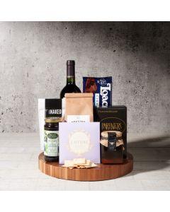 Sheffield Wine Gift Basket, kosher wine gift baskets, gourmet gifts, gifts, kosher