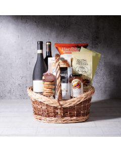 Simple Delights Gift Basket, wine gift baskets, gourmet gifts, gifts, wine