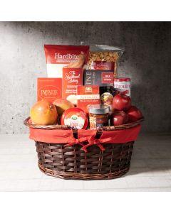 Burgundy Country Gift Basket