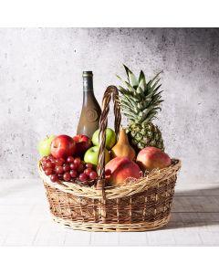 Georgina Fruit Basket, wine gift baskets, gourmet gifts, gifts, fruit, fruit basket
