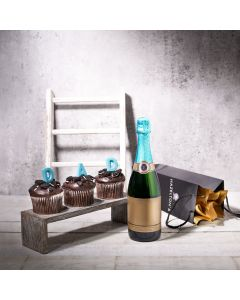 Sparkling Treats Father's Day Gift Basket, father's day gift baskets, gourmet gifts, gifts, champagne, father's day