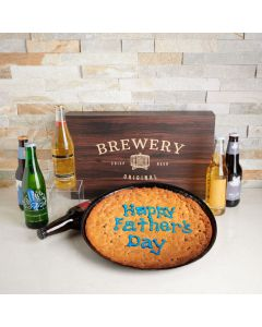 Father's Day Craft Beer & Giant Cookie , father's day gift baskets, gourmet gifts, gifts, beer, father's day