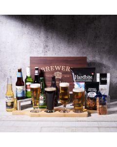 Ultimate Beer Tasting Gift Basket, beer gift baskets, gourmet gifts, gifts, beer, US Delivery