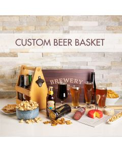 Custom Beer Gift Basket