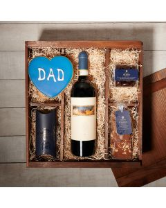 Happy Father's Day Wine Crate, father's day gift baskets, gourmet gifts, gifts, wine