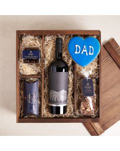 Father's Day Chocolate and Wine Sublime Set, father's day gift baskets, gourmet gifts, chocolate and wine, sweet, gifts