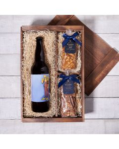 Beer Bark n' Brittle Bonanza Box, beer gift baskets, gourmet gifts, gifts, beer, chocolate, peanuts