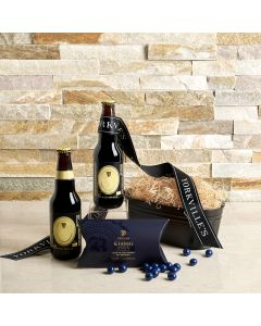 The  Beer and Salty Snack Premium Gift Set, beer gift baskets, gourmet gifts, gifts