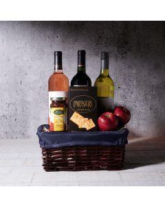 The Passover Dream Gift Basket, kosher wine gift baskets, kosher gourmet gifts, gifts, kosher, passover