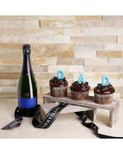 Father's Day Celebration Gift with Champagne, champagne gift baskets, gourmet gifts, gifts, father's day gifts