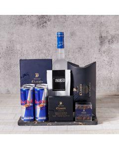 Liquor & Chocolate Gift Bundle