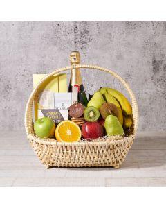 Garden Champagne Shop Basket