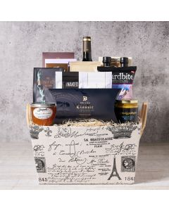 Chateau de Versailles Wine Gift Basket, Wine Gift Baskets, Gourmet Gift Baskets, Chocolate Gift Baskets, USA Delivery