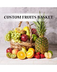 Custom Fruit Gift Baskets